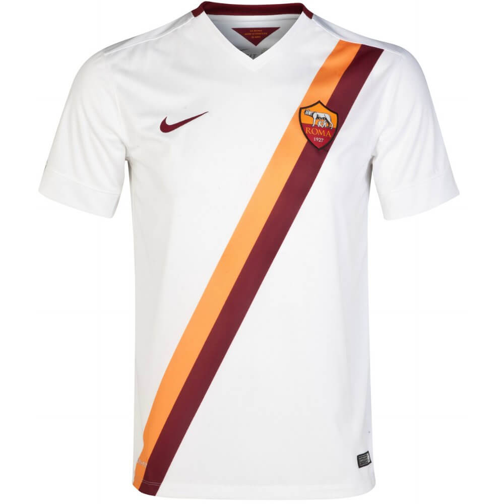 7c8d56b738c AS Roma Kids (Boys Youth) Away Jersey 2014 - 2015
