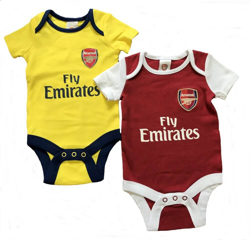 553f99dbc Arsenal Baby Bodysuits 2017 18 - Official Licensed Product