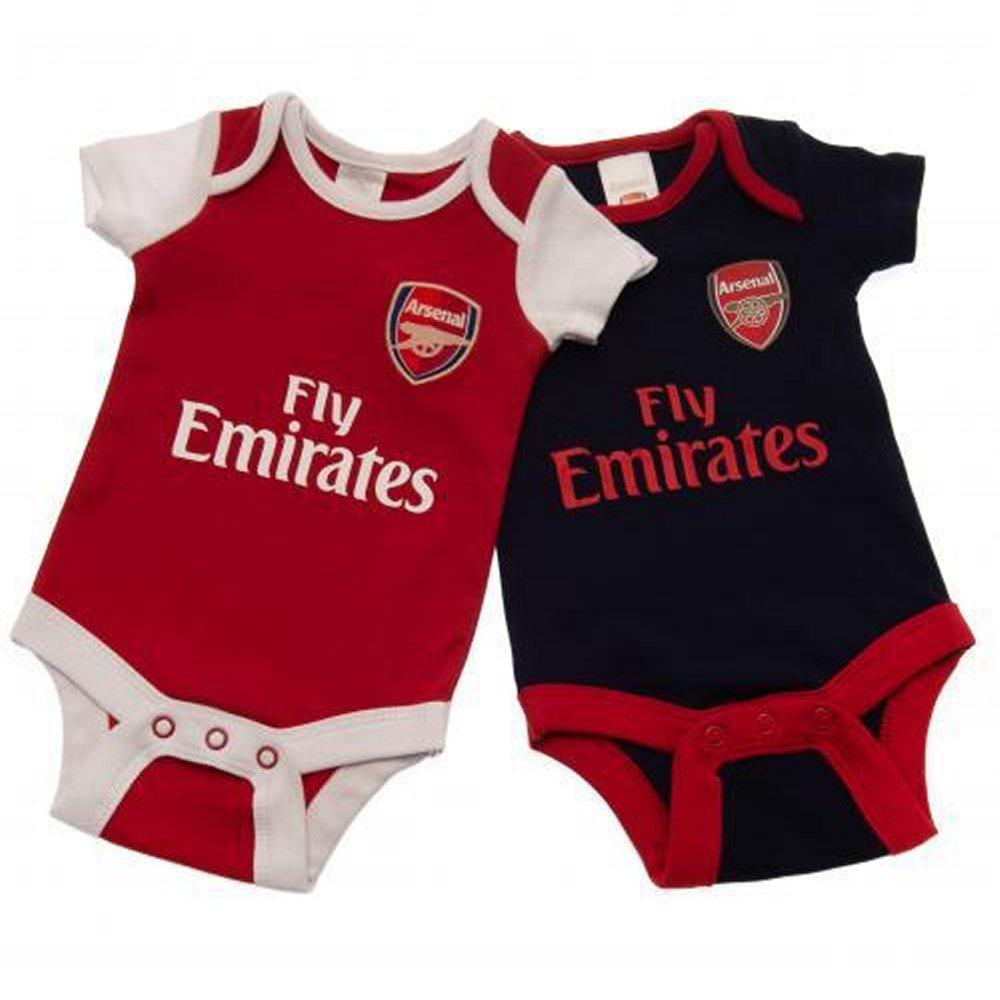 975af8b9d Arsenal Brecrest Baby Bodysuits 2018/19 - Official Soccer Merchandise