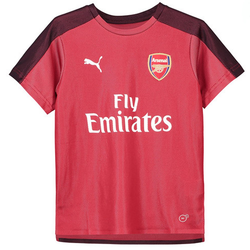 promo code ff6a5 be5c5 Arsenal Puma Red Training Jersey 2018/19 (Kids)