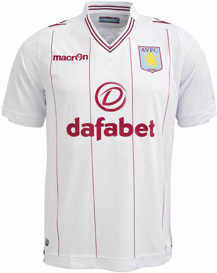 Aston Villa Away Jersey 2014 - 2015  0cf42d493