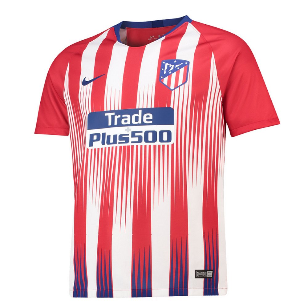 c0c08dc98e9 Atletico Madrid Nike Kids Home Shirt 2018 19 - Official Soccer Jersey