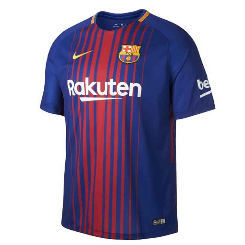 buy online 9e420 93108 Barcelona Kids Home Shirt 2017/18