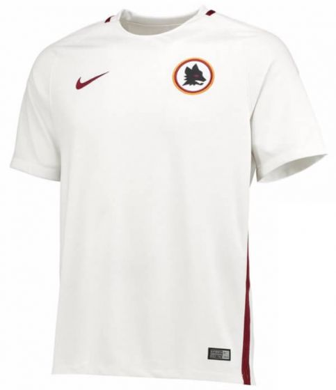 A S Roma Kids Away Shirt 2016-17