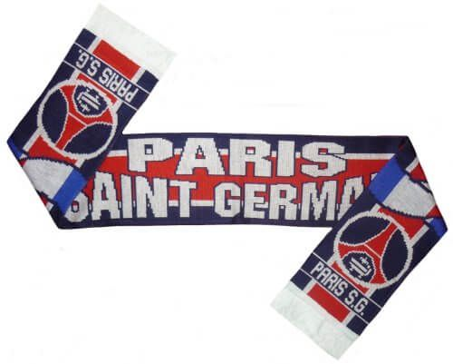 Paris St Germain Football Scarf