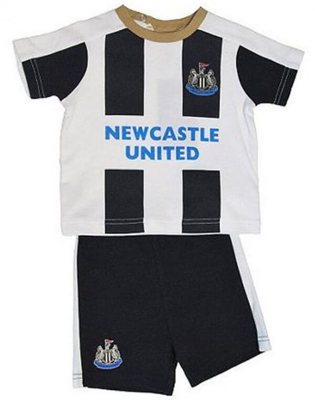 Newcastle United Baby T-shirt & Shorts Set 2016-17