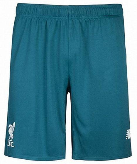 Liverpool Kids Away Goalkeeper Shorts 2015 - 2016