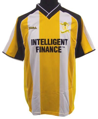 Livingston 2004-05 S/S Home Football Shirt Youths