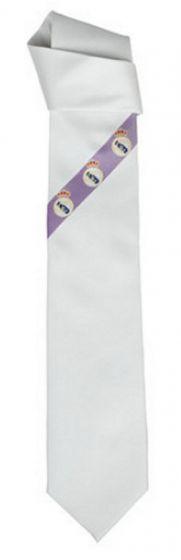 Real Madrid Tie (White)
