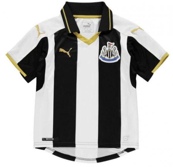 Newcastle United Kids Home Shirt 2016-17