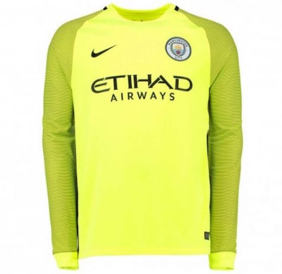 Manchester City Home Goalkeeper Shirt 2016/17