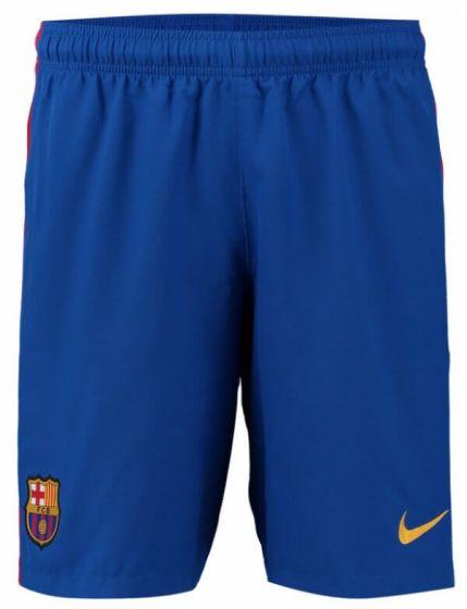 Barcelona Kids Home Football Shorts 2016-17