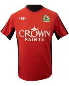 Blackburn Rovers Boys Away Soccer Shirt 2010-11