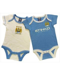 Manchester City Baby Boys Bodysuits
