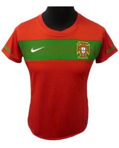 Portugal Womens Home Soccer Shirt 2010-12