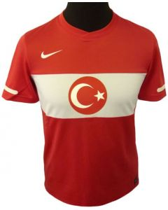 Turkey Boys Home Jersey 2010-12