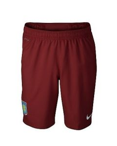 Aston Villa Boys Away Football Shorts 2011-12