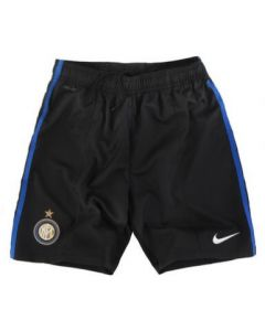 Inter Milan Boys Home Soccer Shorts 2011-12