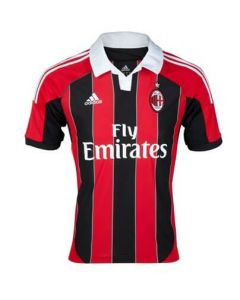 AC Milan Boys Home Football Shirt 2012/13