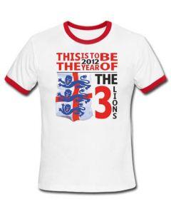 England Euro 2012 T-Shirt