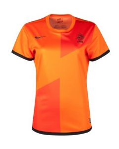 Netherlands Womens Home Football Shirt 2012 - 2013