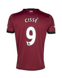 Newcastle United Cisse 9 Away shirt 2012-13