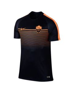 A S Roma Training Top 2016-17 (Black)
