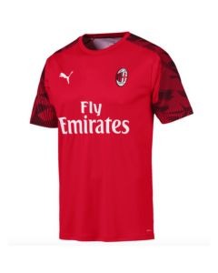 AC Milan red Puma training jersey 2019/20