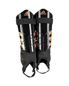 Adidas Ghost Club Black and Copper Shin Pads