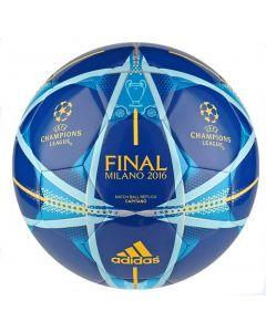 Adidas UEFA Champions Finale Milano Capitano Football (Blue)