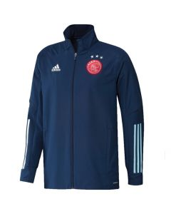 Ajax navy presentation jacket 20/21