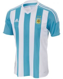 Argentina Kids (Boys Youth) Home Soccer Jersey 2015 - 2016
