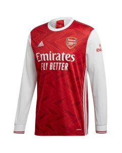 Arsenal Long Sleeve Home Shirt 2020/21
