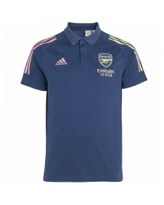 Arsenal 20/21 blue polo shirt