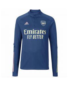 Arsenal blue quarter zip training top 20/21