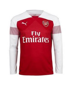 Arsenal Puma Long-Sleeve Home Shirt 2018/19 (Kids)