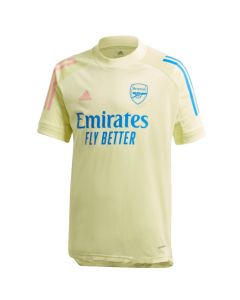 Arsenal kids yellow training jersey 20/21