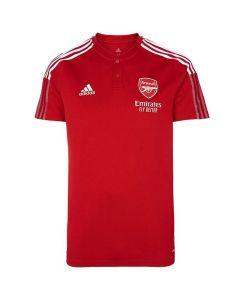 Arsenal 21/22 red polo shirt