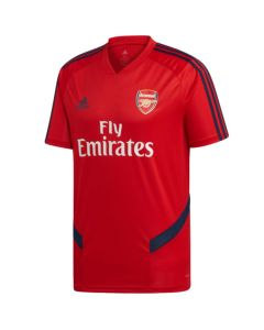 Arsenal red training jersey 2019/20