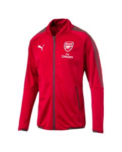 Arsenal Stadium Jacket 2017/18 (Red)