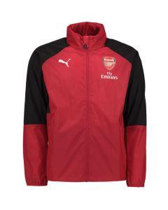 Arsenal Kids Training Rain Jacket 2017/18 (Red)