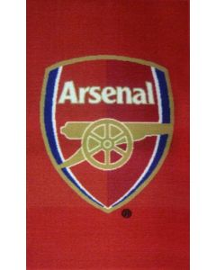 Arsenal Crest Rug
