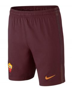AS Roma Kids Home Football Shorts 2016-17