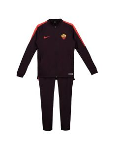 AS Roma Nike Burgundy Squad Knit Tracksuit 2018/19 (Kids)