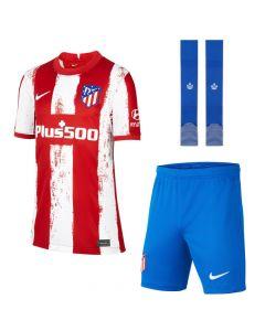 Atletico Madrid Kids Home Kit 2021/22