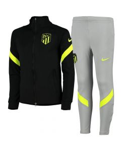 Atletico Madrid Kids Black Strike Tracksuit 2020/21