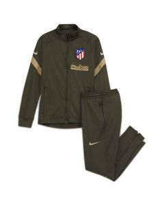 Atletico Madrid kids khaki strike tracksuit 20/21
