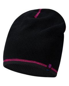 Barcelona Black Beanie Hat 2021/22