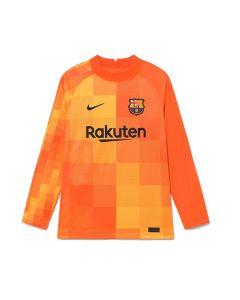 Barcelona Kids Home Goalkeeper Shirt 2021/22