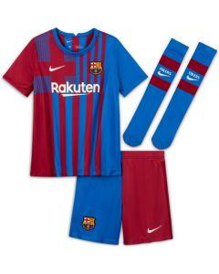Barcelona Kids Home Kit 2021/22